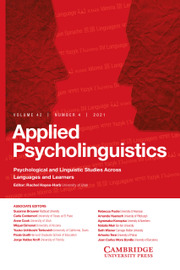 Investigating verbal and nonverbal indicators of physiological response during second language interaction
